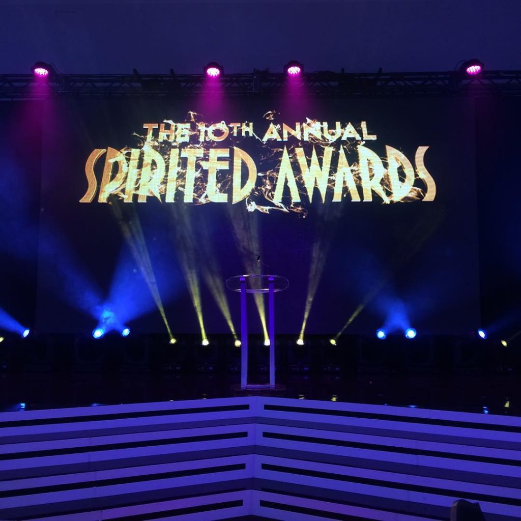 The 10th annual Spirited Awards are about to kick offhellip