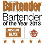 ABSOLUT ELYX to send 2013's Bartender of the Year to Sweden!