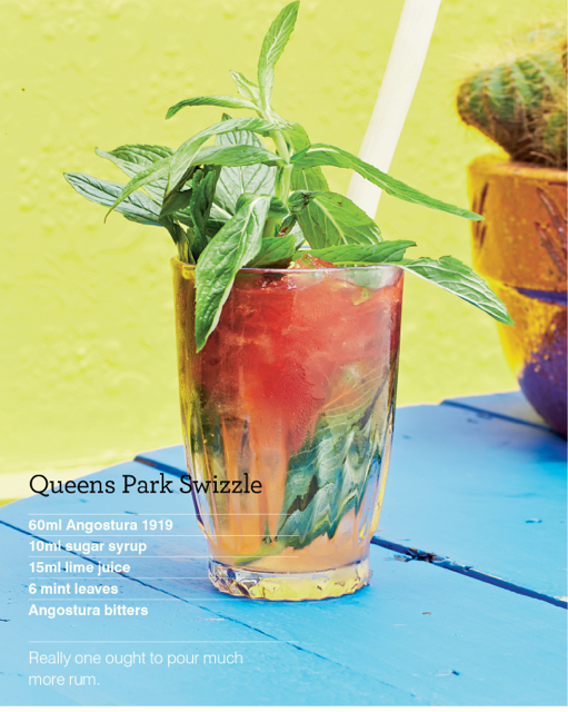 Queens Park Swizzle Recipes — Dishmaps