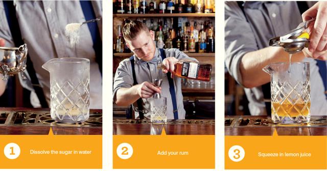 glasgow punch steps 1-3