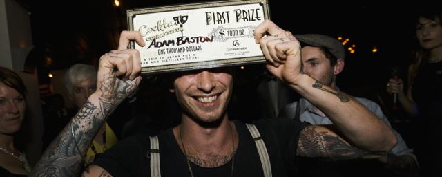 Adam Bastow Winner