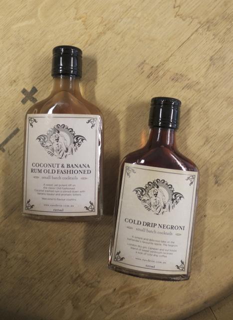 Eau de Vie bottled cocktails