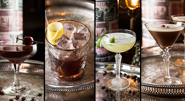 Four-coffee-cocktails