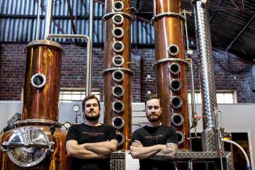 Whipper Snapper distillers Tim Hosken & Jimmy McKeown