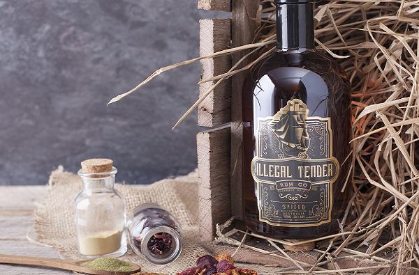 Ilegal Tender Rum Co Spiced Rum