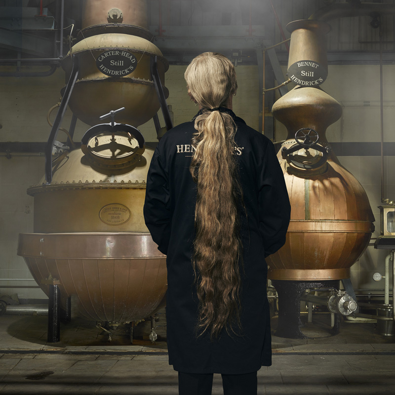 Lesley in the distillery (2)
