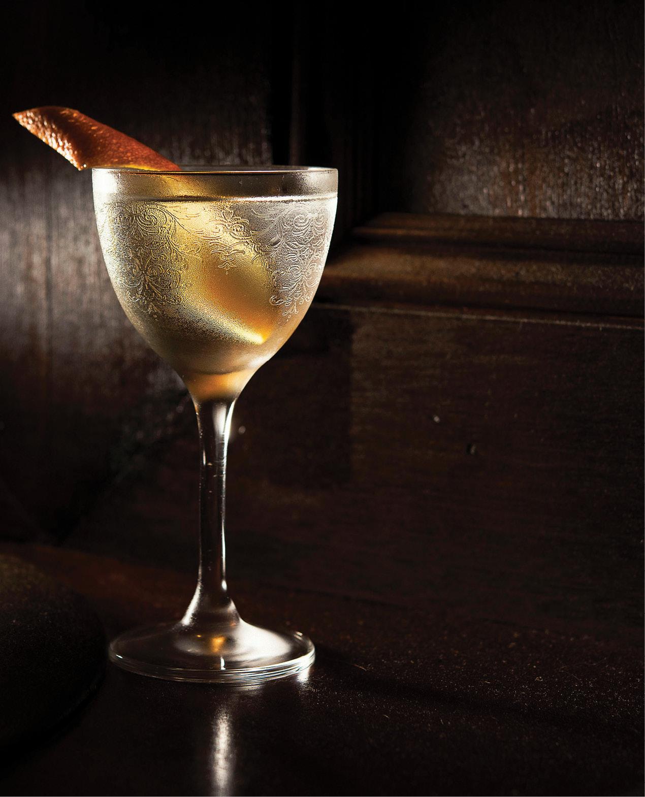 Jangling Jack's House Martini