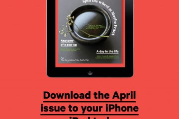 April Issue ipad
