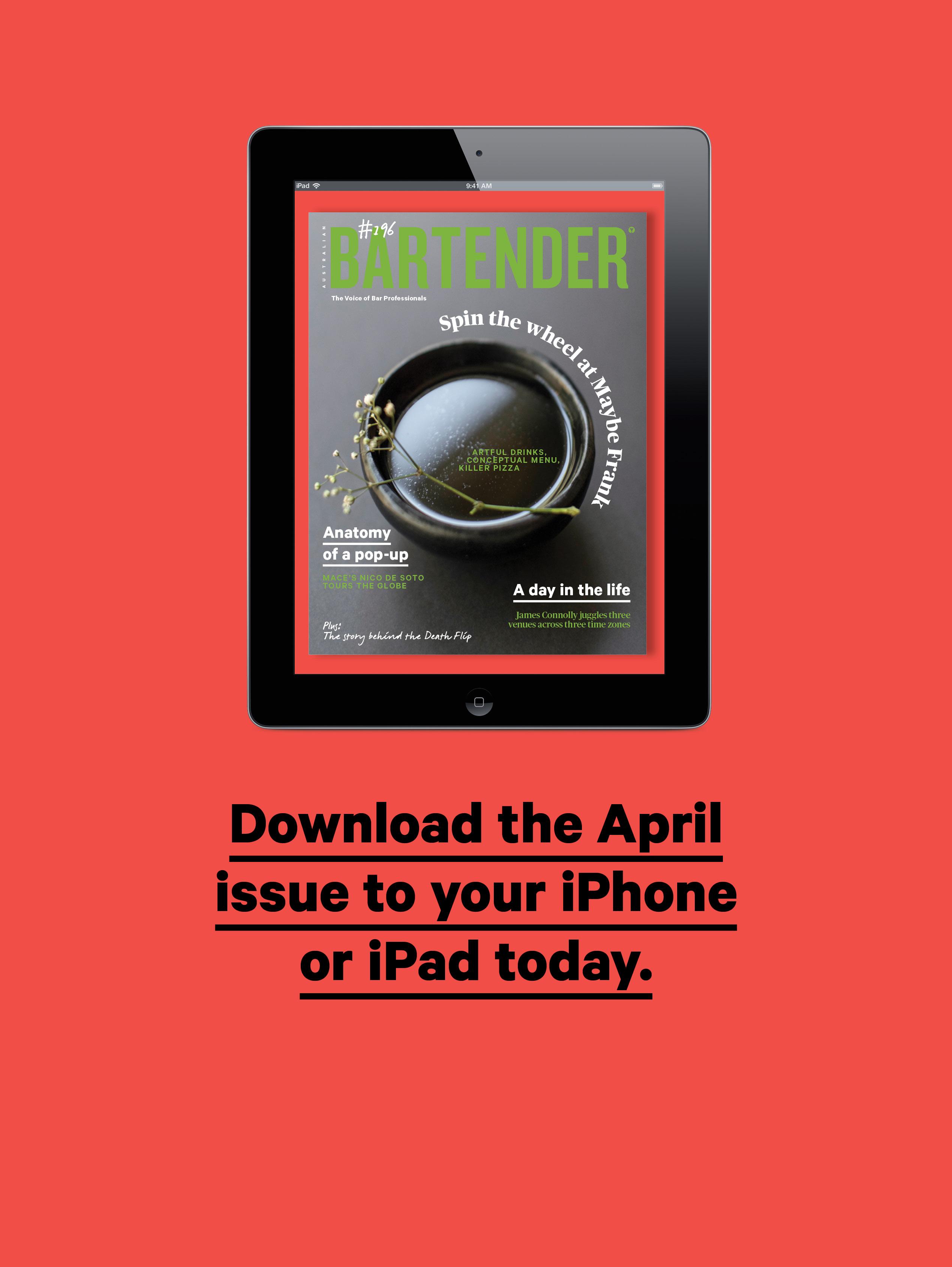 April Issue ipad