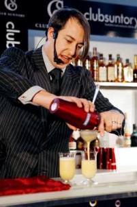 Last year's Bartender of the Year, Sebastian Reaburn