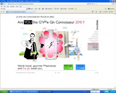 G'Vine Connoissuer Program