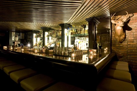 The bar at PDT