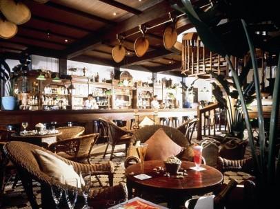 The Long Bar at The Raffles Hotel