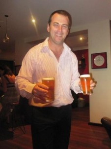 Tim at the Riverview Hotel in Balmain