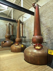 Brush up on your Woodford Reserve knowledge. Woodford Reserve, unlike the majority of American whiskeys, uses old fashioned copper-pot stills