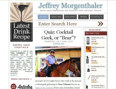 Jeffrey Morgenthaler's Blog