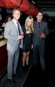The Judging Panel: Garth Foster, Samantha Brett and Bartender Magazine's Simon McGoram.
