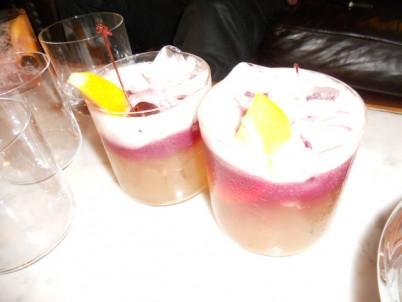 Porteno's Bootleggrs Sour cocktail