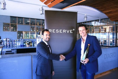 Reserve's Nick Mills and Bartender magazine's David Spanton