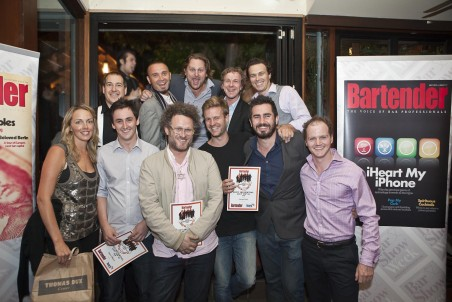 The Top Ten with the Bartender magazine team