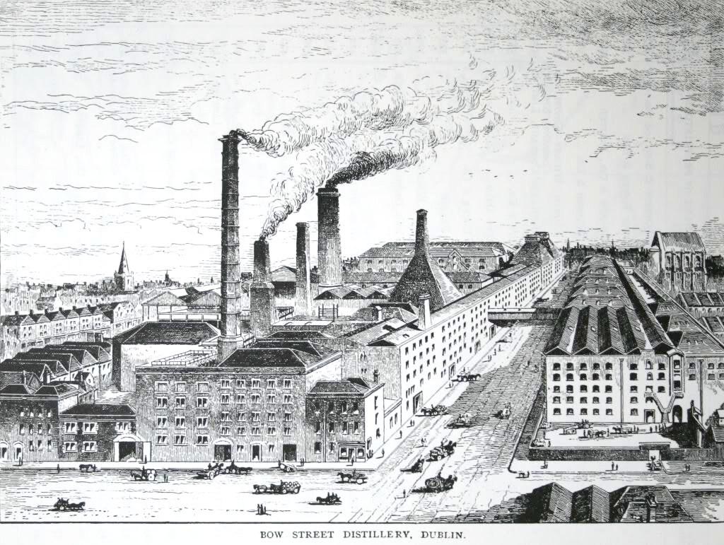 Bow Street distillery c1885