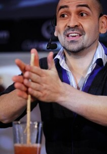 Gerald Faundez at Bartender of the Year 2010