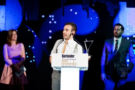 Tim Philips takes out the Bartender of the Year Competition for 2011 - great work Tim!