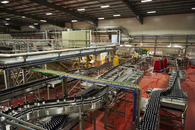 Go inside Asahi's 1000 bottles a minute bottling plant