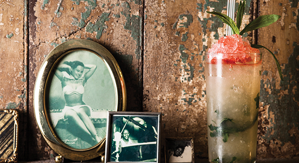 Watch how to make the Queen's Park Swizzle ...