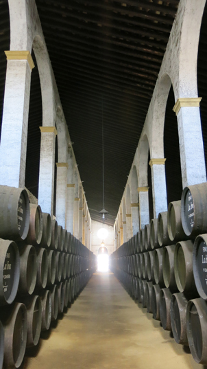 sherry-barrels