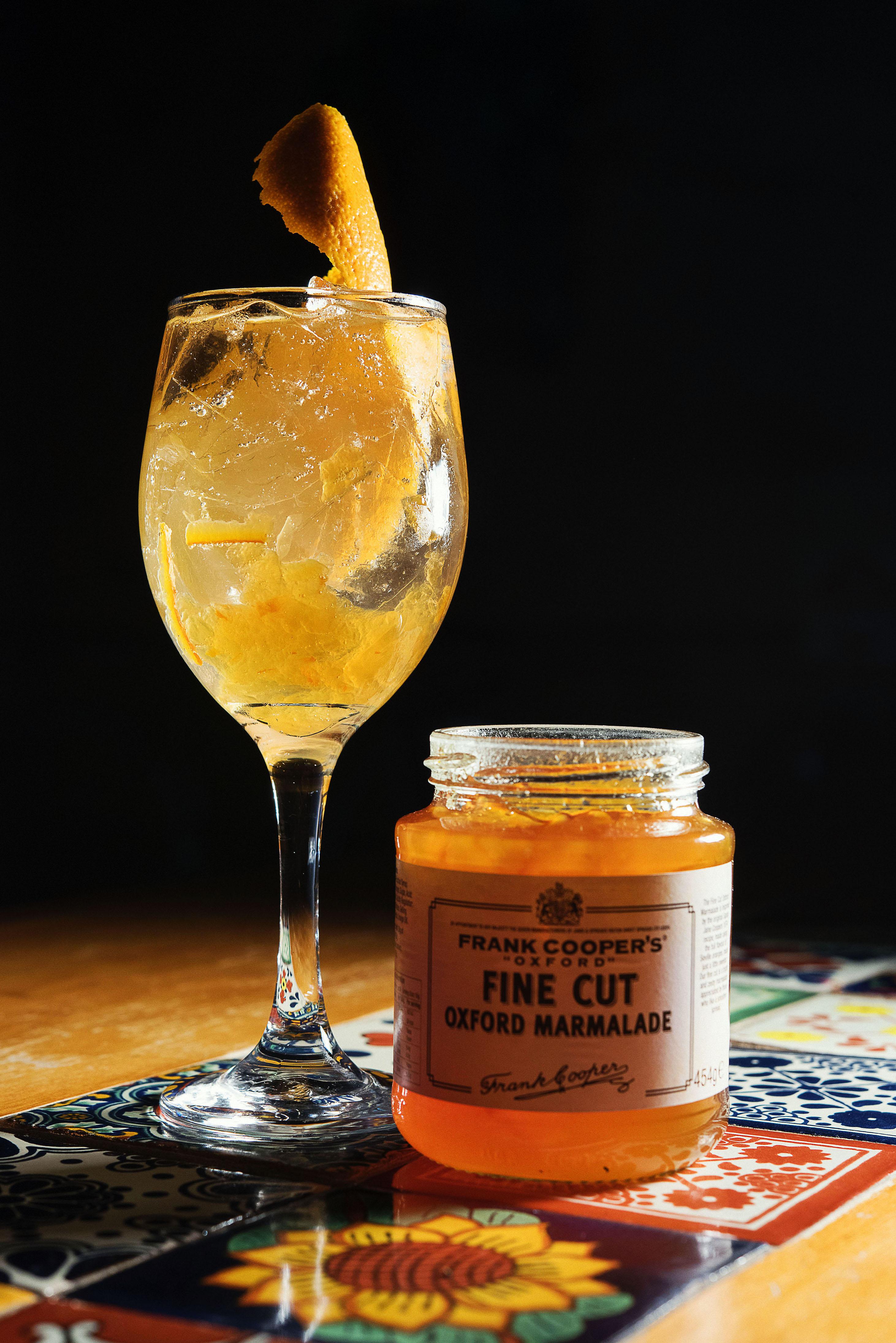 Whitley Neil Gin with Fever Tree Tonic, orange marmalade, orange bitters, orange zest_CP86373