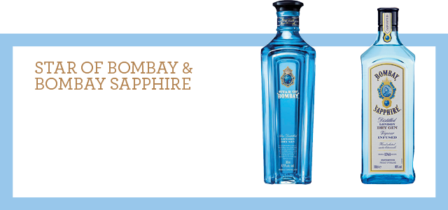 Star of Bombay & Bombay Sapphire