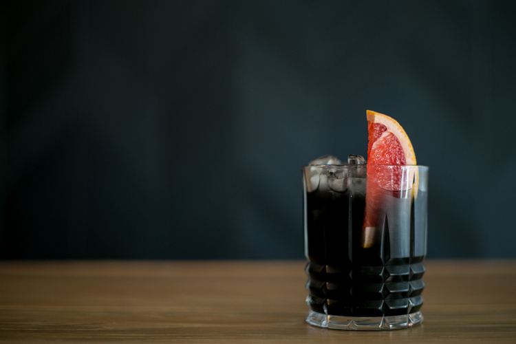 The Ugly Duckling's Black Negroni