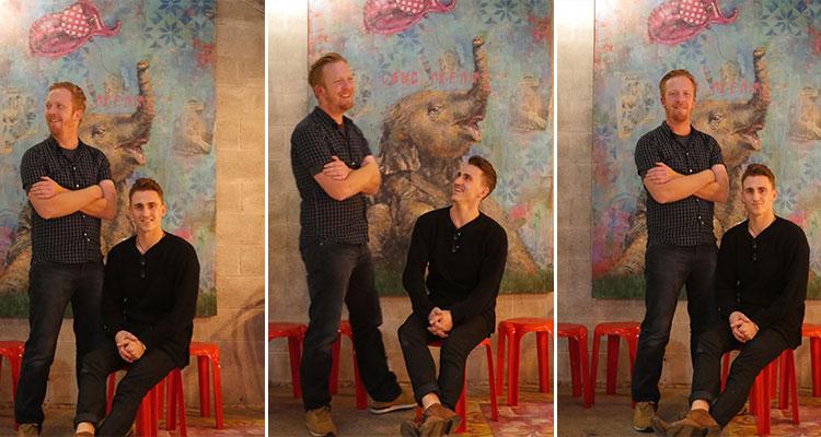 James Connolly (left) & Keegan Hartslief
