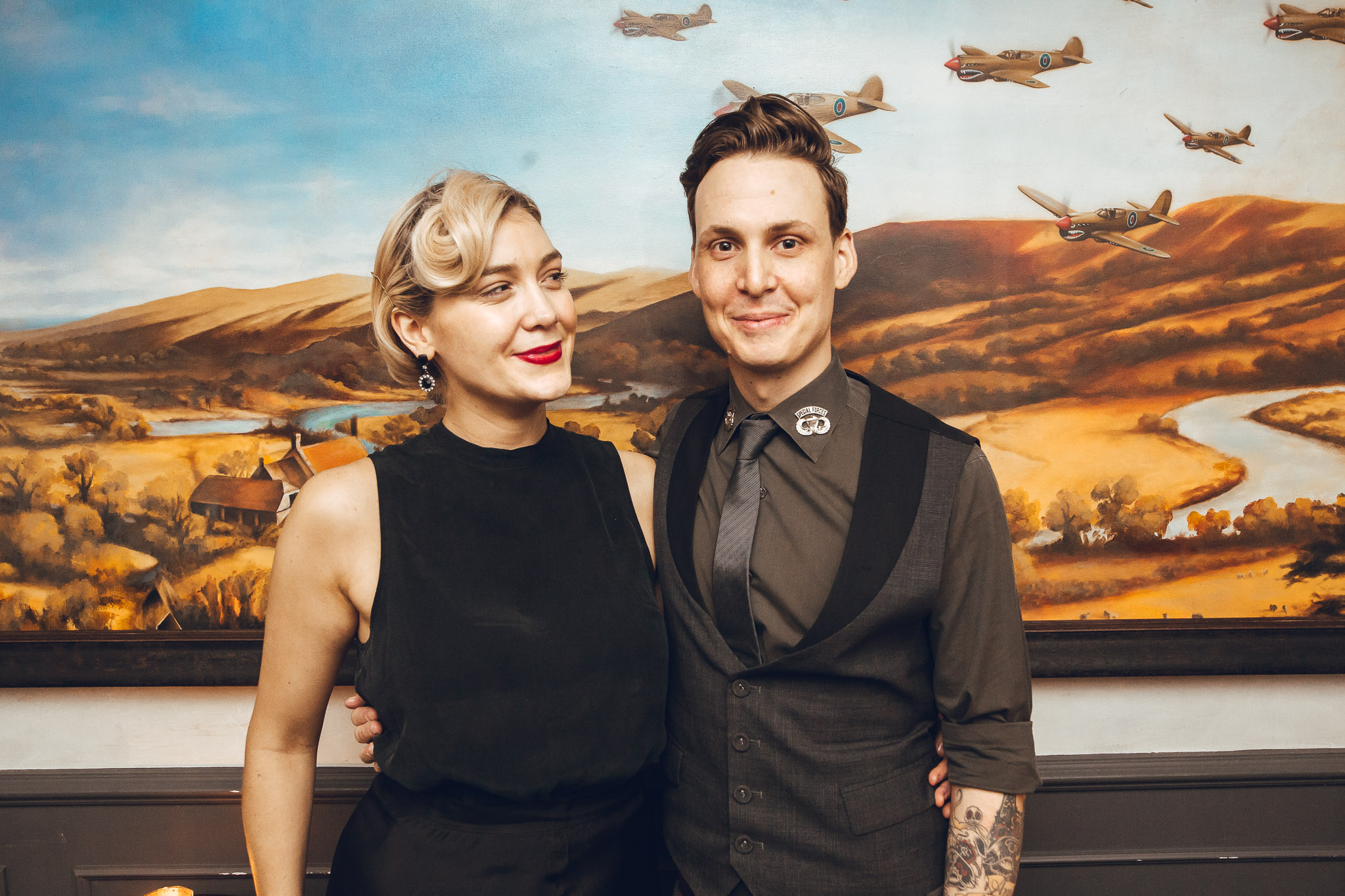 Paige Aubort, with Kittyhawk owner and mentor, Jared Merlino
