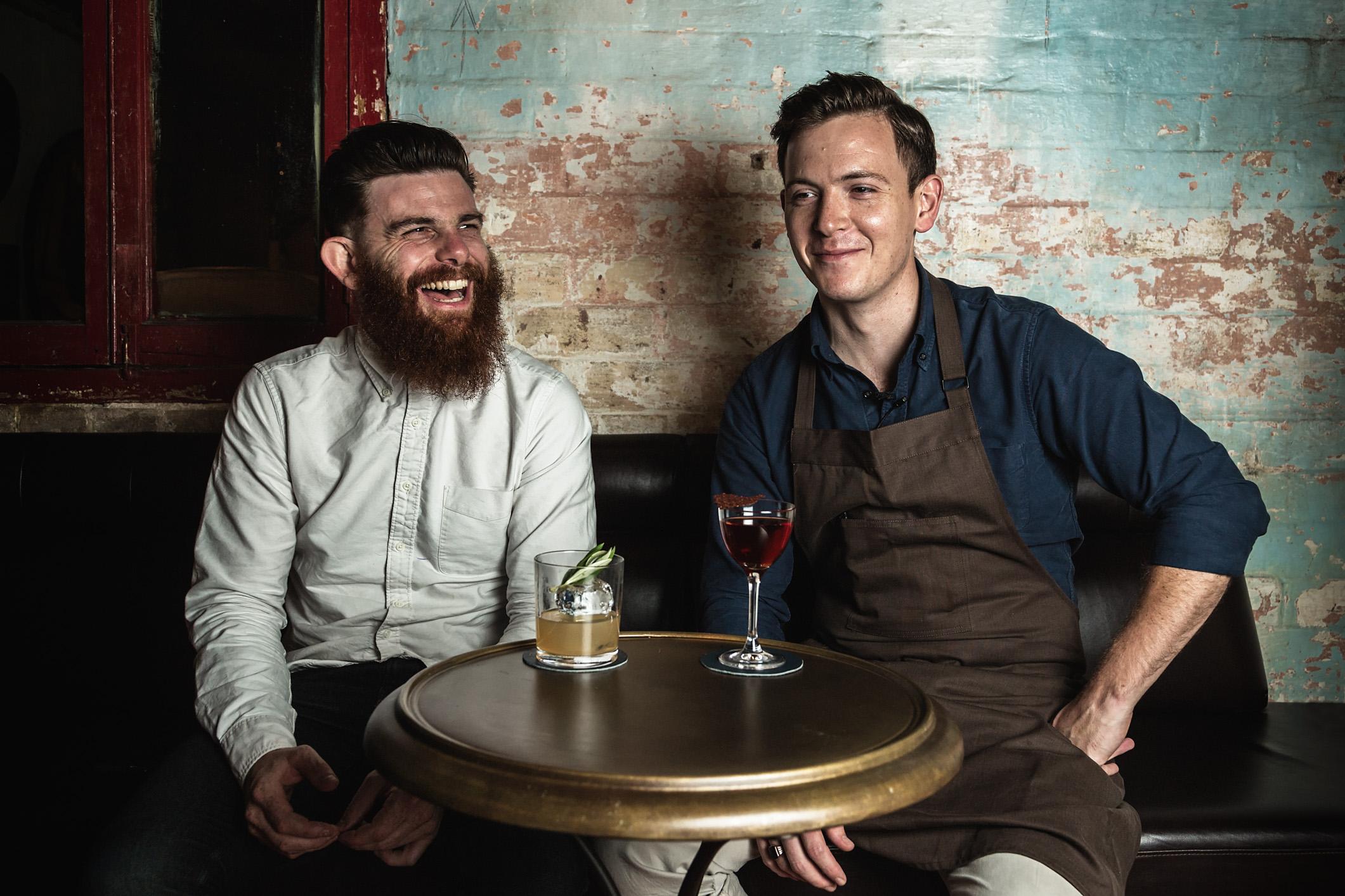 Toby Marshall (left), and Sam Egerton
