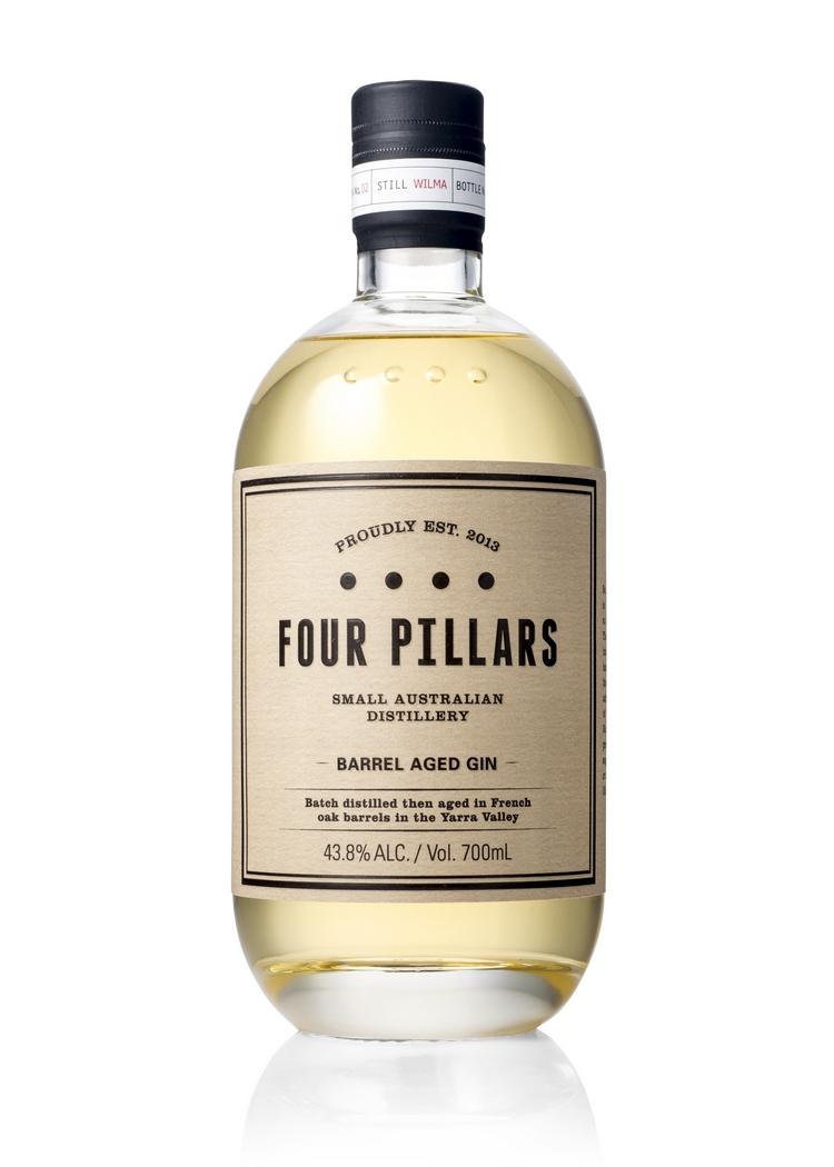 Four Pillars Barrel Aged Gin web