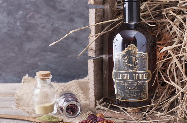 Ilegal Tender Rum Co Spiced Rum