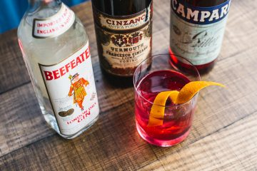 The 1970's Negroni at Madame Shanghai.Photo: Alana Dimou