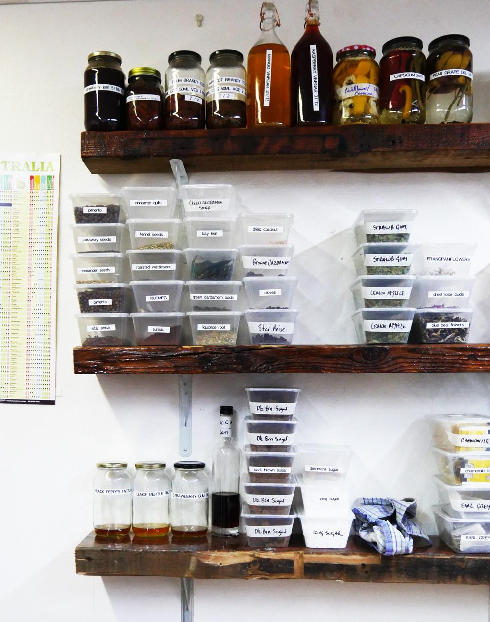 Inside Bulletin Place's prep kitchen.