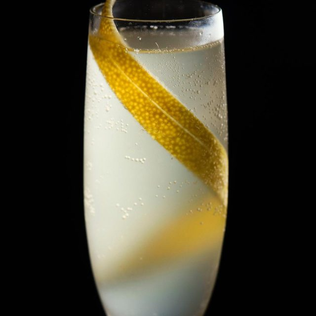 French 75 recipe 30ml Bloom Gin 20ml lemon juice 10mlhellip