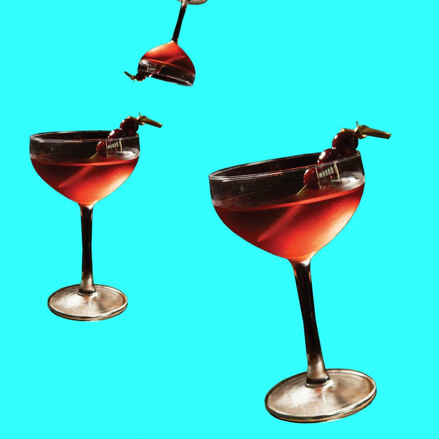 The Bijou cocktail.