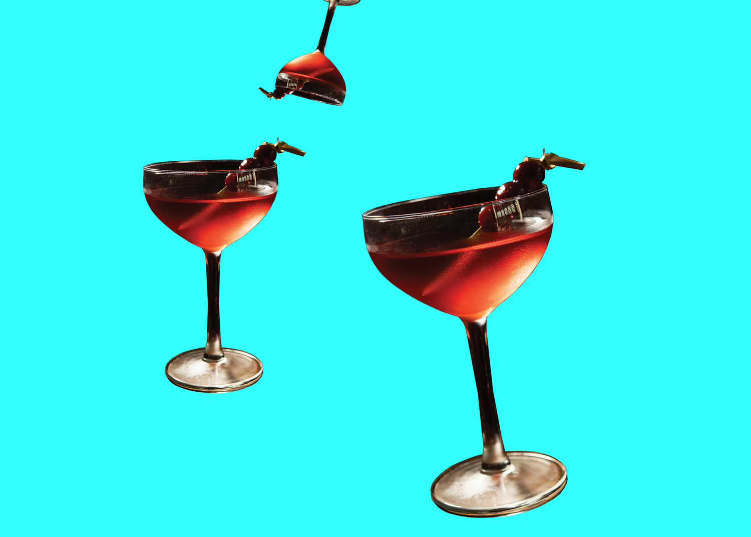 The Bijou cocktail.