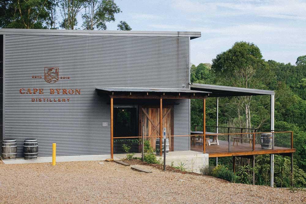 The Cape Byron Distillery.