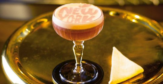 The New York Sour at Manhattan, Singapore.
